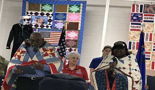 28 Pahrump Veterans Honored with Quilts of Valor